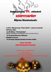 Korvitsapaev 29.10.2014 kuulutus