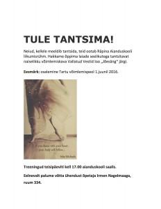 Tule TANTSIMA