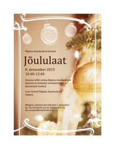 Jõululaat 2015